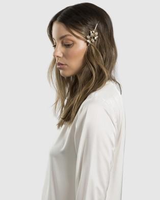 Kitte Lumiere Hair Pin - Hair Accessories (Gold)