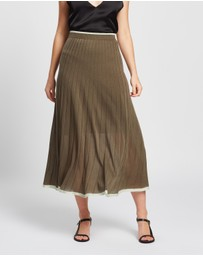 Lee Mathews - Tencel Rib Skirt