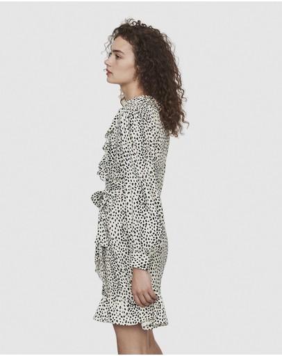 Maje Rosana Dress White