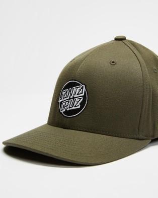 Santa Cruz Dot Flex Fit - Headwear (Cypress)