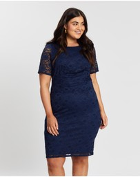 DP Curve - Lace Pencil Dress