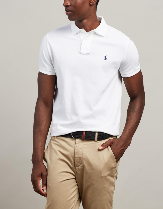 Polo Ralph Lauren - Custom Slim Fit Mesh Polo