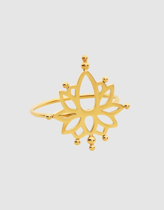 Women Water Lily Ring