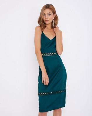 Calli – Sellina Dress Green