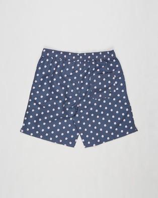Free by Cotton On Bailey Boardshorts   Teens - Swimwear (Daisy & Vintage Navy)