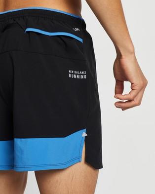 New Balance Impact Run 5 Inch Shorts - Shorts (Faded Cobalt)