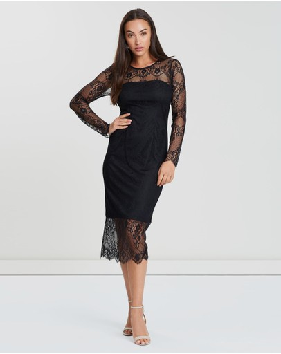 aaca5cbe689e Black Lace Dress