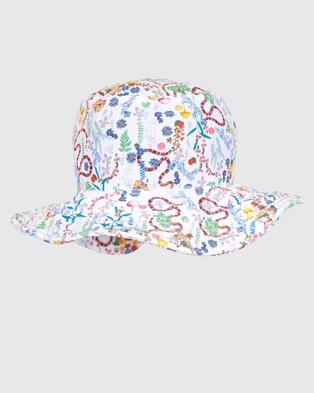 Aqua Blu Kids Woodlands Lycra Hat Hats Woodlands