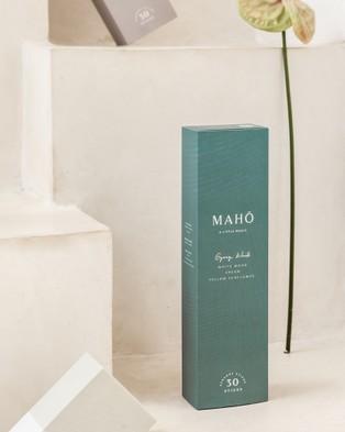 MAHO Sensory Gypsy Wood Incense Sticks and Burner Set - Incense (Green)