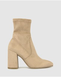 Betts - Slay Block Heel Ankle Boots