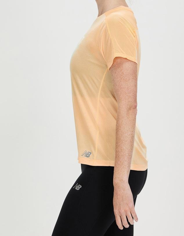 Women Printed Impact Run Short Sleeve Tee