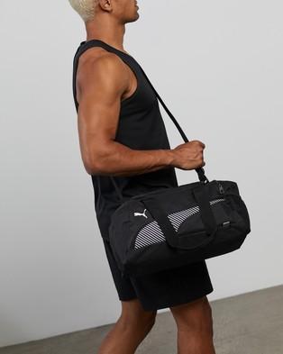 Puma Fundamentals Sports Bag Extra Small Duffle Bags Puma Black