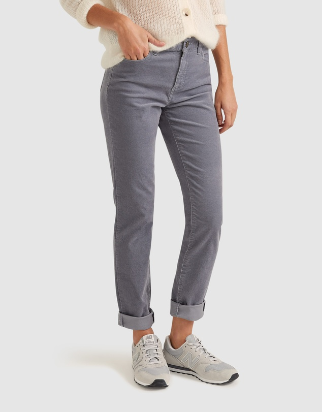 Women Cleo Cord Jeans