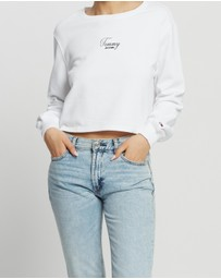 Tommy Jeans - Washed Logo Crew