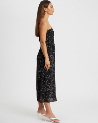 BWLDR Gianna Dress - Printed Dresses (White Spot)