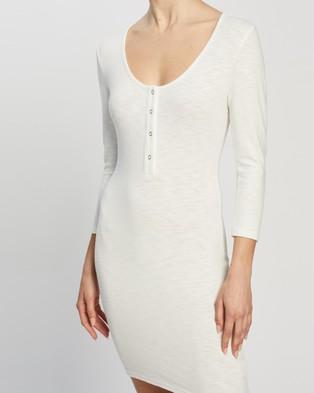 Atmos&Here Lana Mini Dress - Bodycon Dresses (Off White)