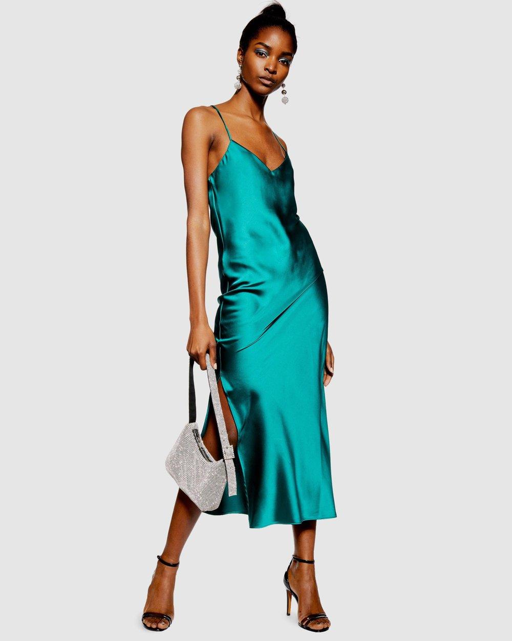 bd20690d4a26d Plain Satin Slip Dress by TOPSHOP Online   THE ICONIC   Australia
