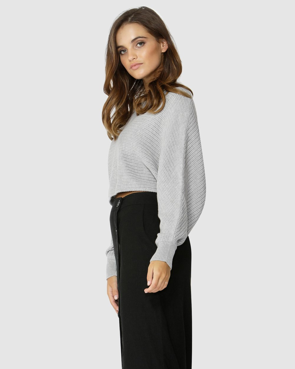 e741caa76361 Independence Cropped Knit by Sass Online | THE ICONIC | Australia