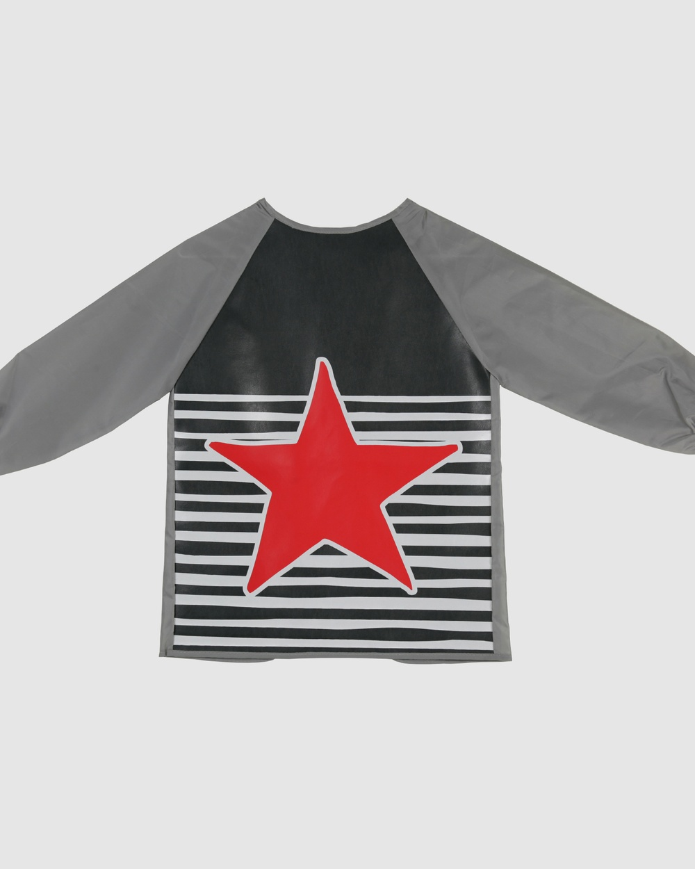 Bobbleart Art Smock Star and Stripe Novelty Gifts Charcoal