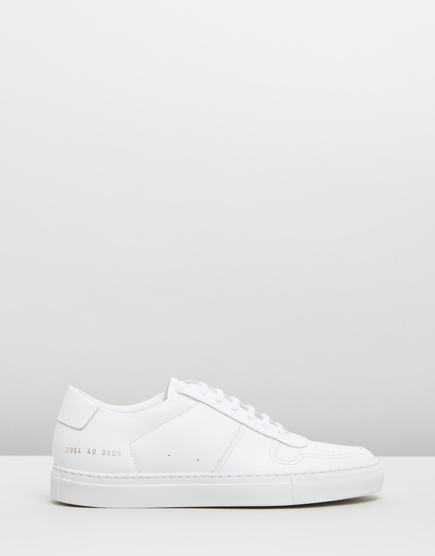 Common Projects - Bball Low Leather - Women's