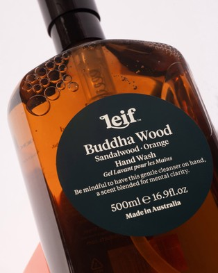 Leif Products Buddha Wood Hand Wash 500ml - Beauty (Amber)