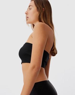 Cotton On Body Everyday Bonded Bandeau - Strapless Bras (Black)