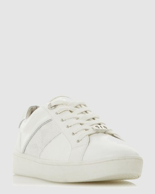 Dune London - Everlee Low Top Sneakers (White)