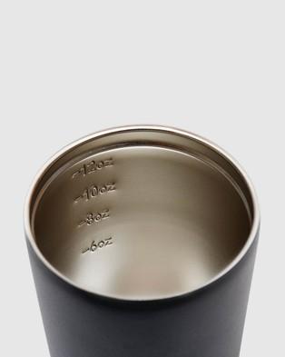 Fressko Camino 12oz Reusable Coffee Cup - Home (Black)