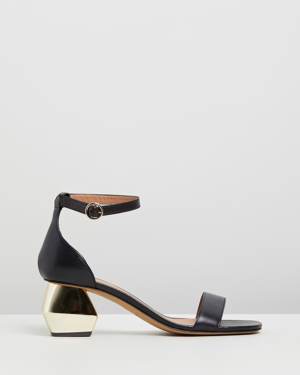 389a66a75479 Sabo Buckled Sandals by Emporio Armani Online