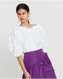 See By Chloé - Ruffle Trim Blouse