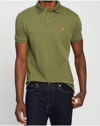 Polo Ralph Lauren - Custom Slim Fit Short Sleeve Knit Polo