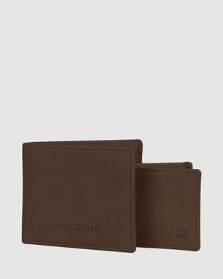 Billabong Rockaway RFID 2 In 1 Wallet - Wallets (JAVA GRAIN)