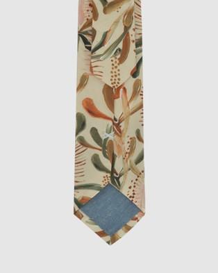 Peggy and Finn - Grass Tree Tie - Ties (Nude) Grass Tree Tie
