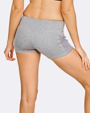 The Brave Women's High Tide Booty Shorts - Shorts (Charcoal Marle)