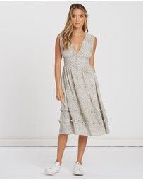 Alys - Harper Plunge Midi Dress