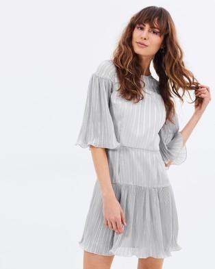 Talulah – Stand Alone Mini Dress Dove
