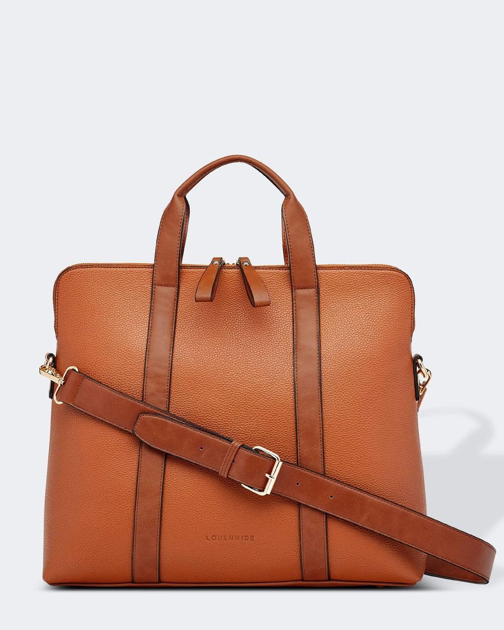 Louenhide Rhodes Laptop Bag Bags Tan Laptop Bags Australia