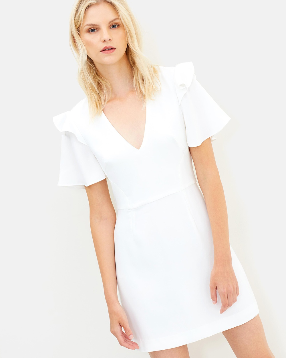 Rebecca Vallance Eventide Dress Dresses White Eventide Dress
