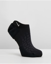 Nike Elite Cushioned No-Show Running Socks - Unisex