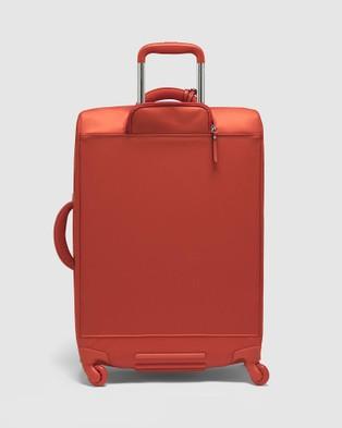 Lipault Paris Plume Avenue Spinner 65cm Expandable Suitcase - Travel and Luggage (Orange)