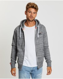 Superdry - Orange Label Zip Hoodie