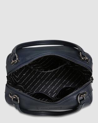 Status Anxiety Don't Ask Bag   Navy Blue - Handbags (Navy Blue)