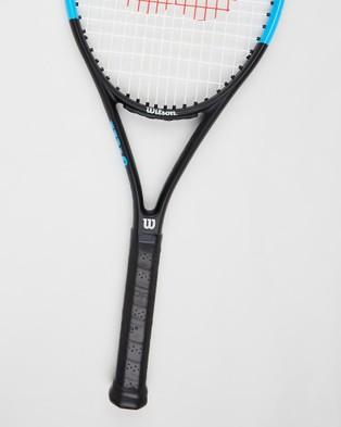 Wilson Ultra Power 100 Tennis Racket - Sports Equipment (Black & Blue)