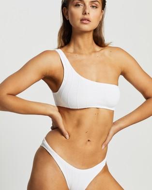Hunza G Nancy Nile Bikini Set - Bikini Set (White Nile)