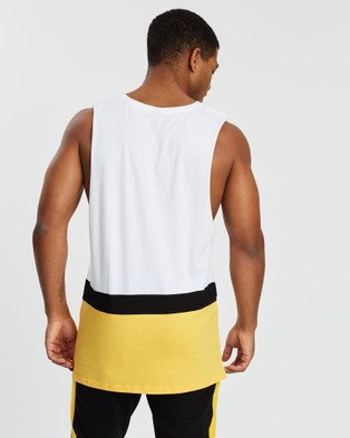 VILLIN Fast Sleeveless Tank - T-Shirts & Singlets (White)