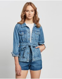 Outland Denim - Ava Belted Jacket
