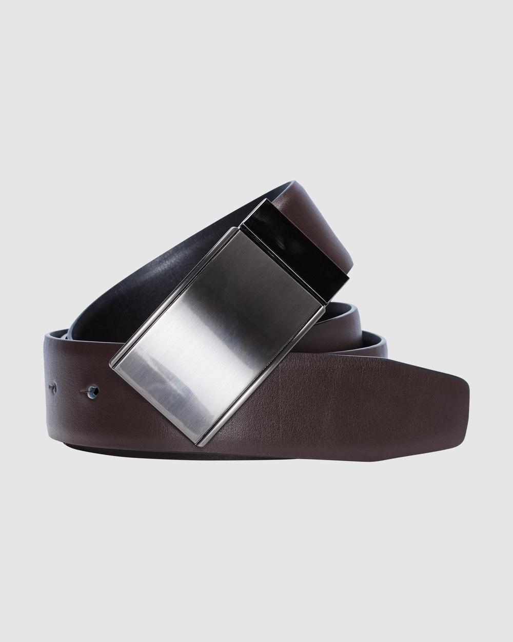 yd. Williams Dress Belt Belts CHOCOLATE