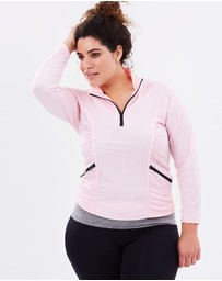 Curvy Chic Sports - Stay Cool Long Sleeve Top