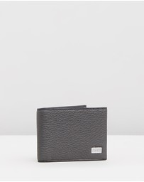 BOSS - Billfold Grained Leather Wallet