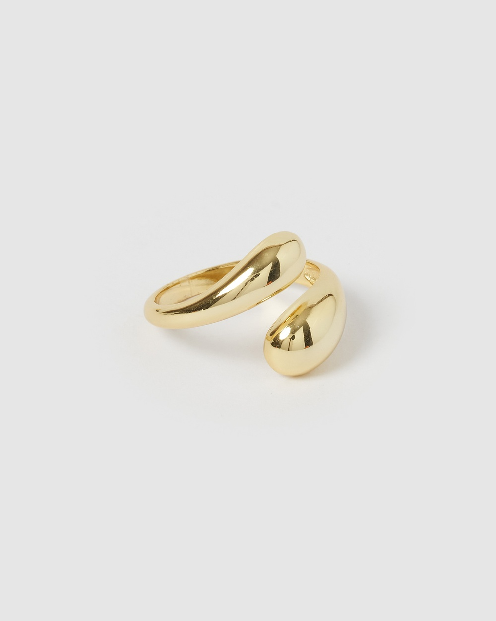Izoa Shadow Ring Jewellery Gold